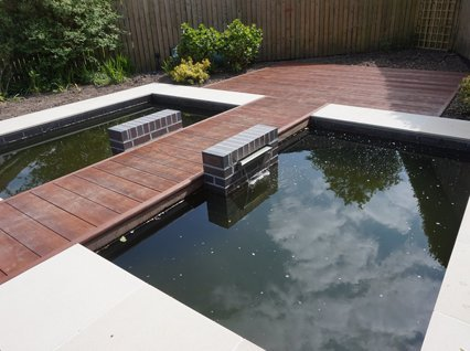 Water features include